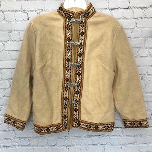 Vintage dale of Norway 100% wool cardigan